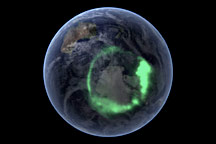 IMAGE Spacecraft Pictures Aurora