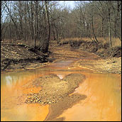 Photograph of Acid Mine Waste