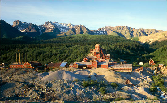 Kennicott Copper Mine, Alaska