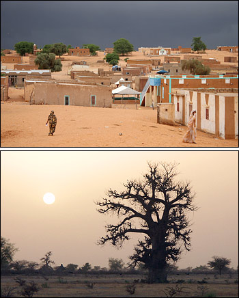 Photographs of the Sahel