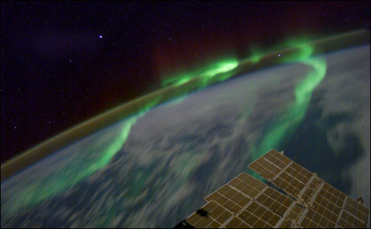 Photograph of Red Aurora