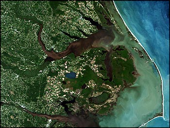 Sediment from Landsat