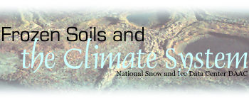Frozen Soils and the Climate System