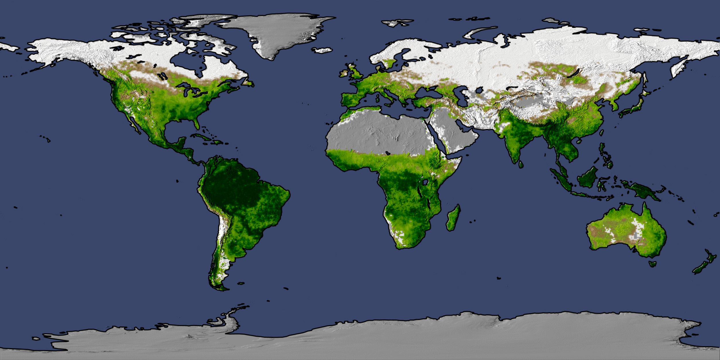 Global garden gets greener high resolution images large publicscrutiny Image collections