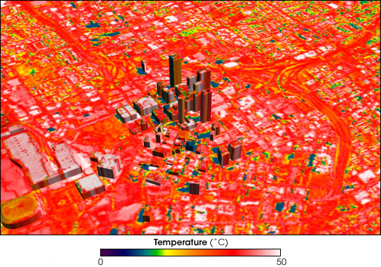 Urban heat island in Atlanta, May 11-12, 1997