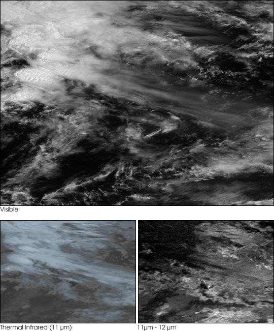 Geostationary Images of Tropical Thunderstorms