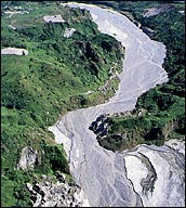 Lahar from the Air