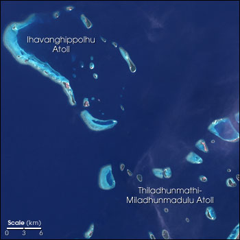 Overview of Atolls from Landsat