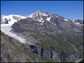 Photograph of mountains surrounding Val de Bagnes