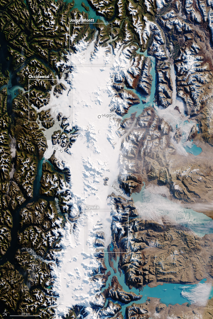 South Patagonian Icefield
