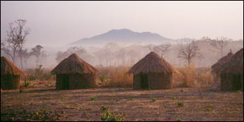 Photograph of Primitive Village