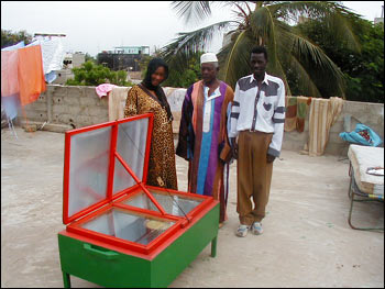 Photograph of a Solar Oven