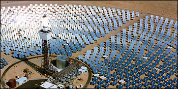 Photograph of Solar Power Plant