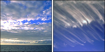 Cirrus and Stratocumulus Clouds