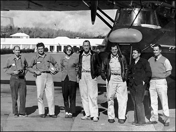 Joanne Simpson and the Crew of the Woods Hole PBY