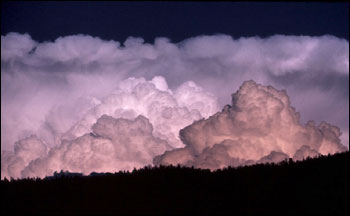 Photograph of Building Cumulus Clouds