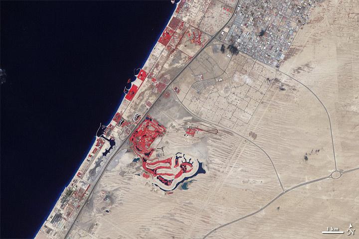 World Of Change Urbanization Of Dubai