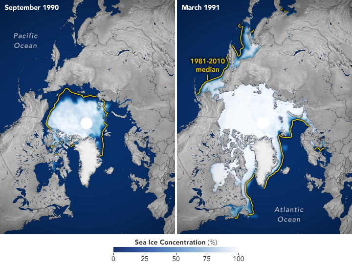 World of Change: Arctic Sea Ice