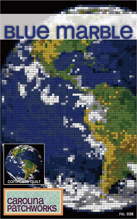 Blue Marble Quilt Pattern