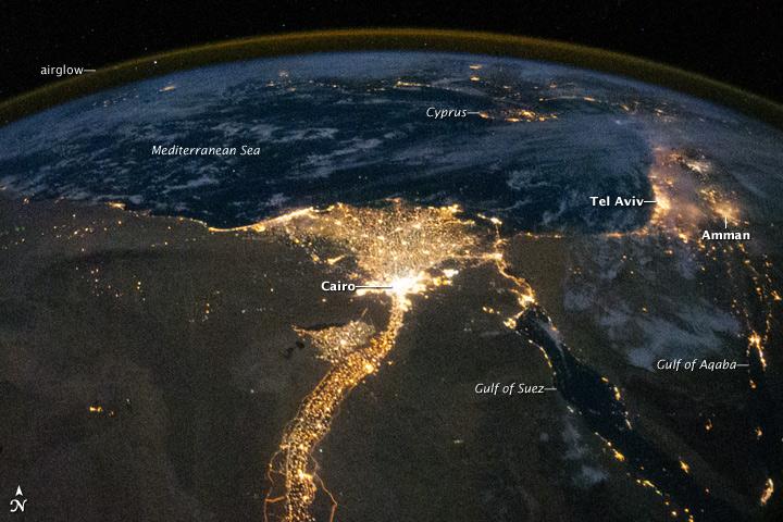ISS025-E-09858 (Nile River, 2010)