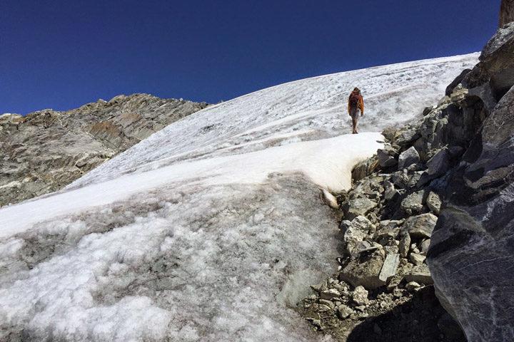 Walking on Venezuela's Last Glacier