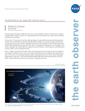 Highlights from The Earth Observer