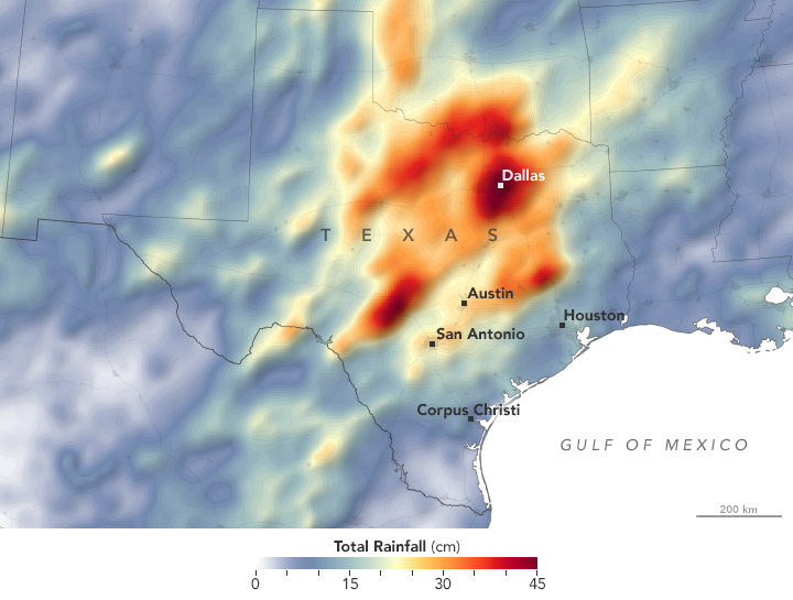 5 Stories from 5 Years of Precipitation Measurements from Space