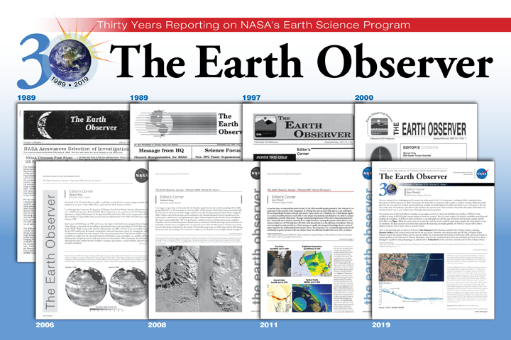 Reflections on 30 Years of The Earth Observer Newsletter
