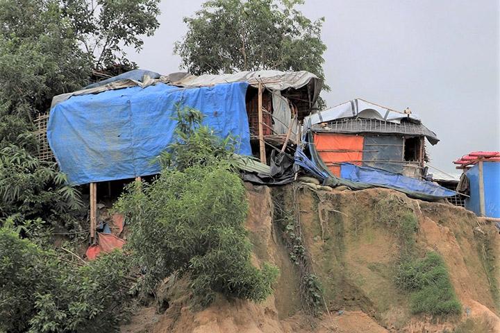 NASA Data Helps Assess Landslide Risk in Rohingya Refugee Camps