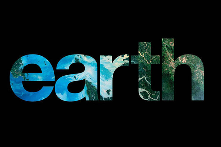 Earth book cover/ logo