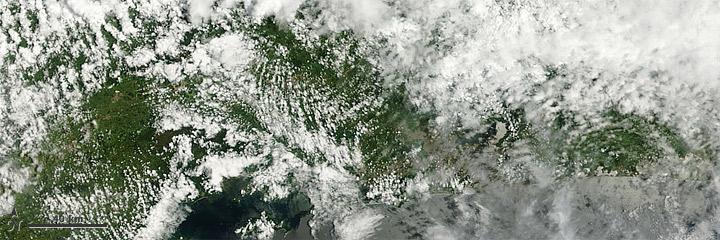 Satellite image of Rio de Janeiro