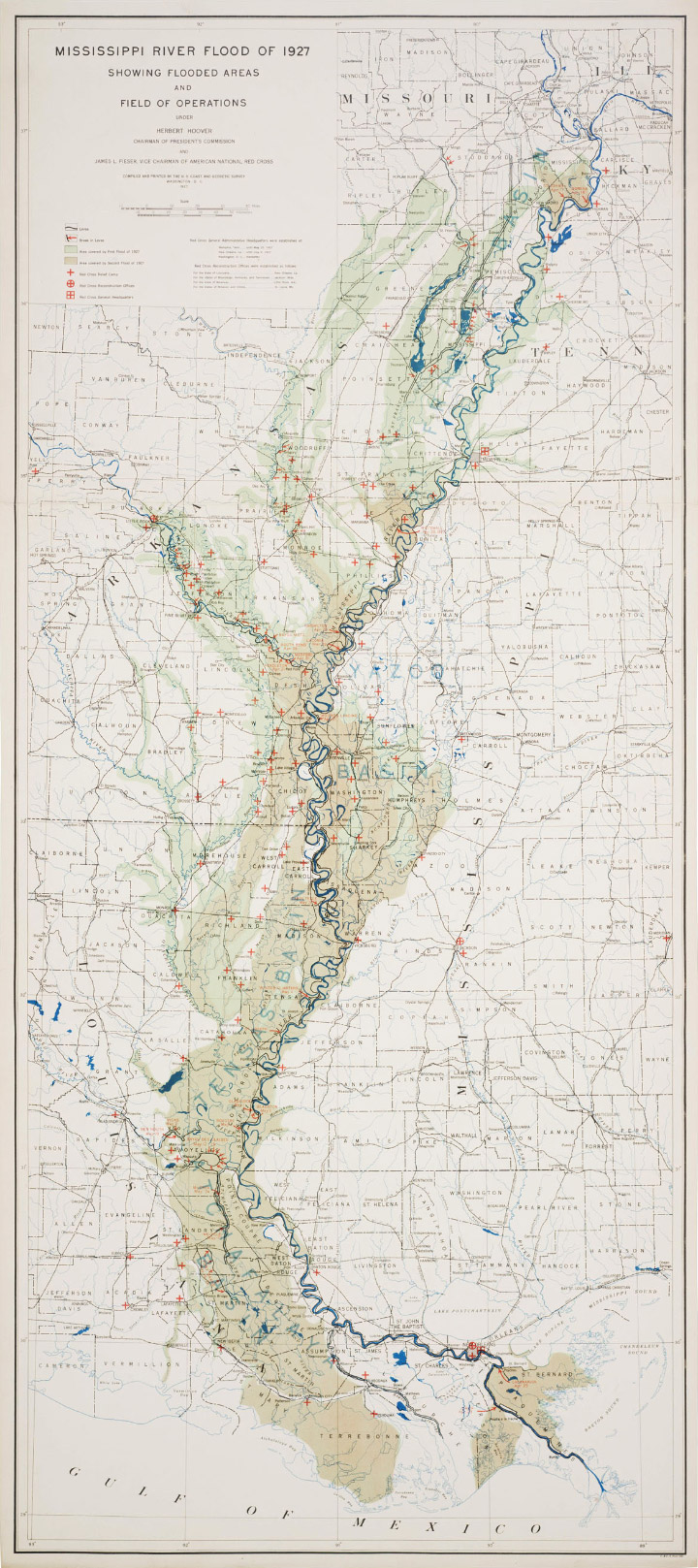 Mississippi Flood Map Elegant Figures   Building in a Flood Plain, and a Map of the