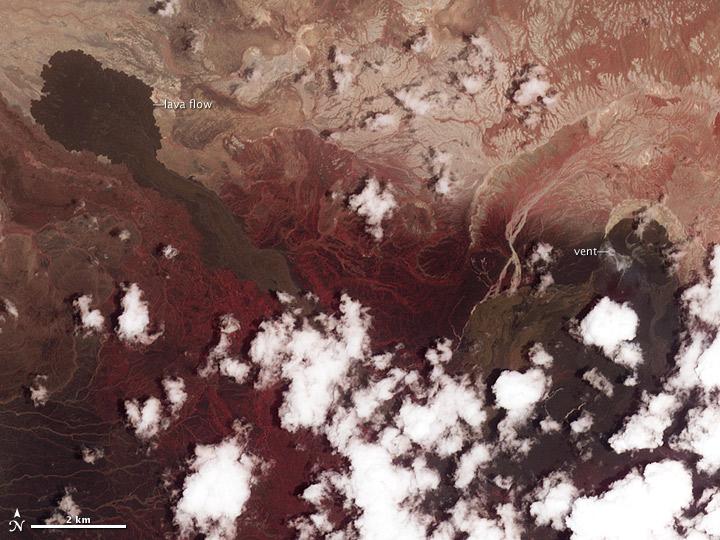 Nabro Volcano
