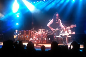 Rush at the Gibson Ampitheatre. August 11, 2010.