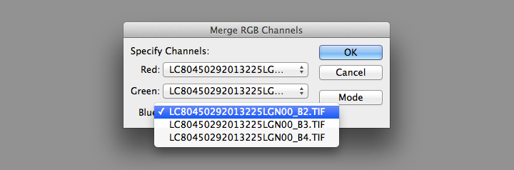 Merge RGB Channels screenshot.