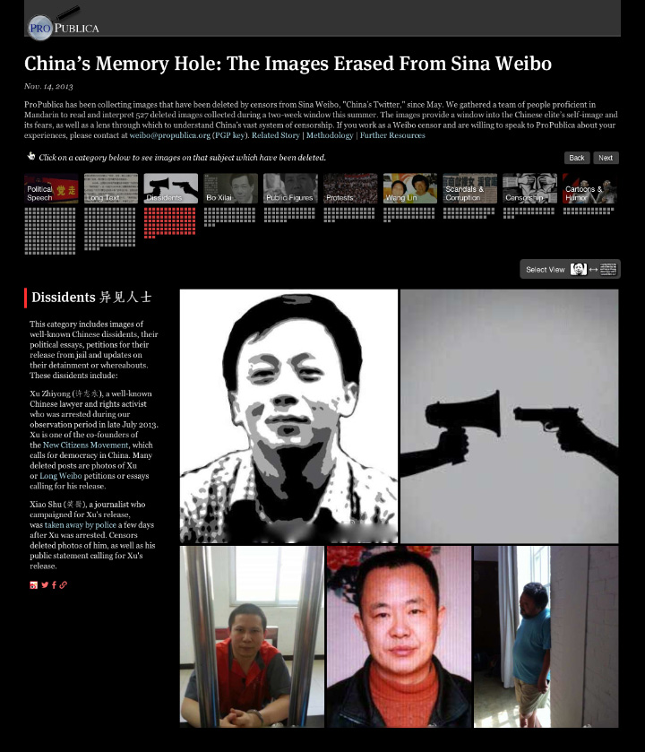 The Images Erased From Sina Weibo