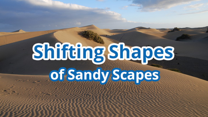Shifting Shapes of Sandy Scapes