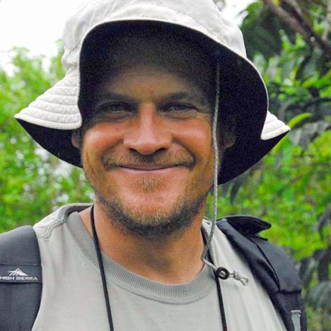 Tour guide Andres Vergara
