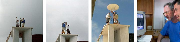 Installation of the SeaWiFS receiving station