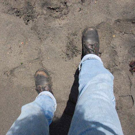My first steps ashore on Isabela Island