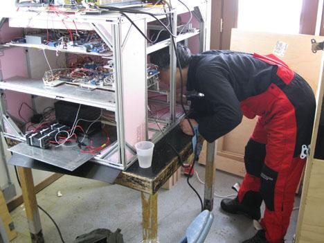 Ed in radiometer