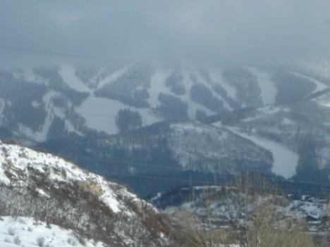 Storm Peak summit in the clouds