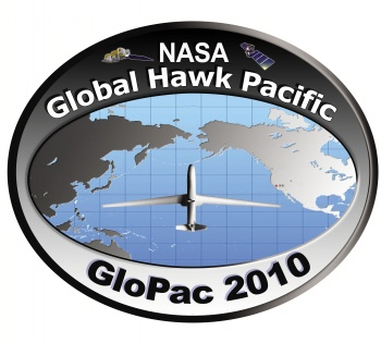 Mission logo and patch for GloPac