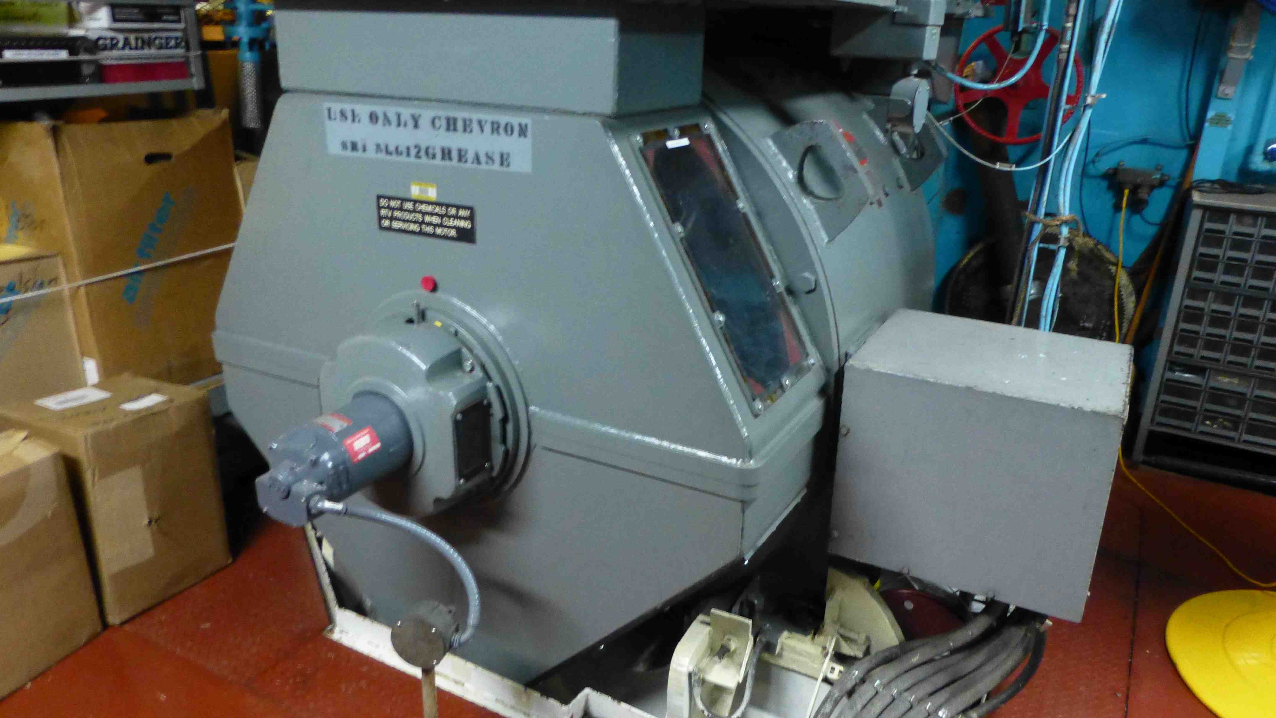 One Of Th Electric Motors For Propulsion Notes From The