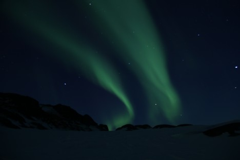 The northern lights (Aurora) never got old and were out almost every night.