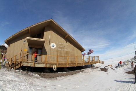 NSF administration building at McMurdo