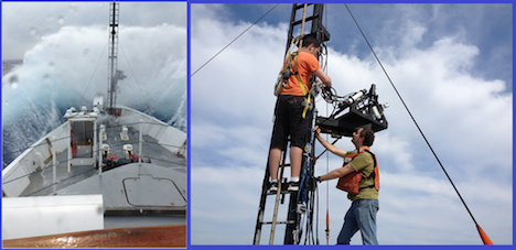 When things go like they do in the left image, we always have to do  the right thing. Courtesy of crew members and Ivona Cetinic