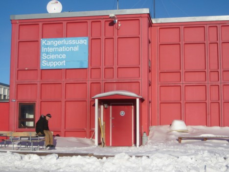 The Kangerlussuaq International Science Support building.  Our home for the next few days.