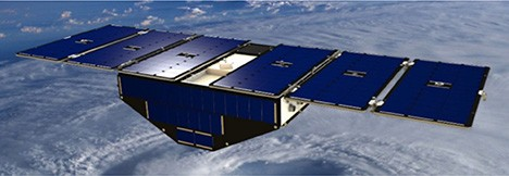 A Single Cygnss Satellite