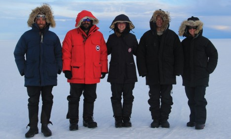 Field team! From left to right: Clem, Nick, Lynn, Anatoly and Olivia.